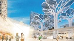 Metal Ağaçlar Finans Merkezi'ne Enerji Verecek