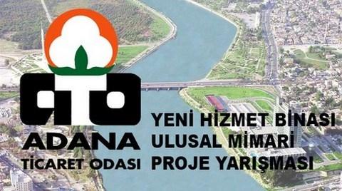 Adana Ticaret Odası Yeni Hizmet Binası Ulusal Mimari Proje Yarışması