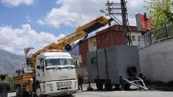 Belediye Polis Noktası İnşaatını Mühürledi