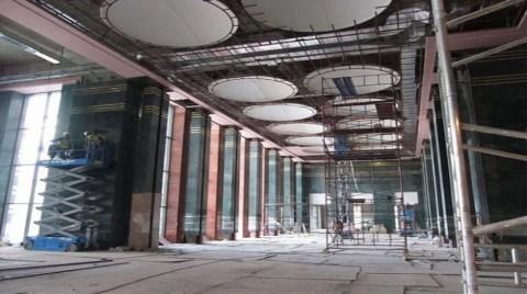 İşte Bin Odalı Yeni Başbakanlık Binasından İlk Kareler