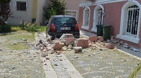 Gökçeada'da Depremin Bilançosu Açıklandı