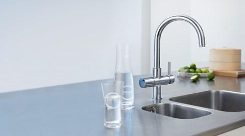 GROHE Blue® ile Mutfak Bataryanızdan İçme Suyu Akacak