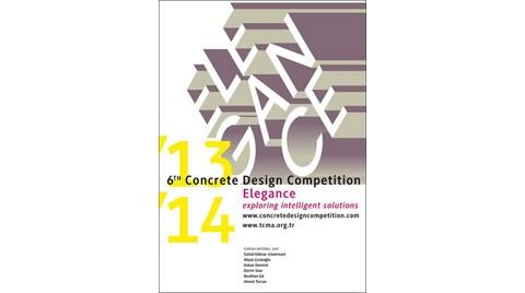 6. Uluslararası Beton Tasarım Yarışması Sonuçlandı