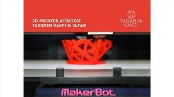 Tasarım Vakfı 3d Printing Atölyesi