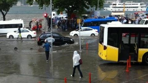 "İstanbul'un ""Yağmur""la Sınavı!"