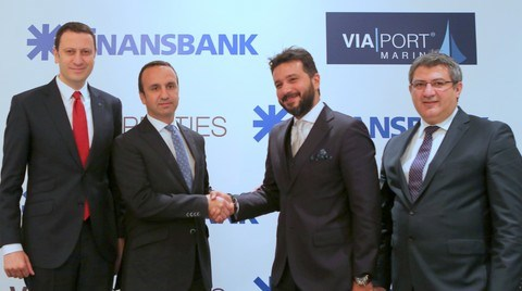 Finansbank ile Via Properties'den 125 Milyon Euro'luk İmza