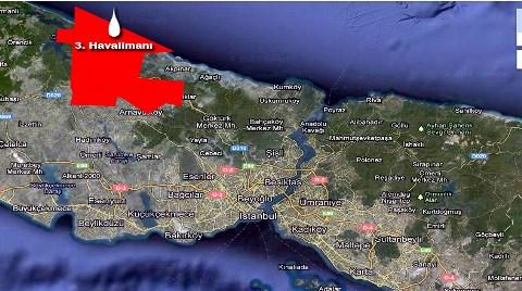 3. Havalimanı İnşaatındaki Göl Suları Karadeniz'e!