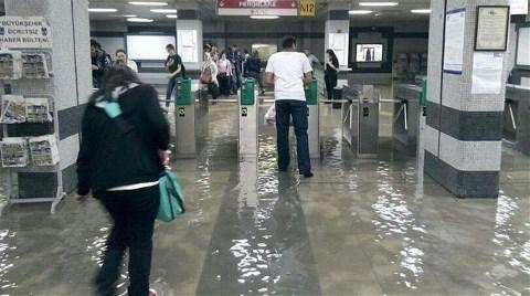 Ankara Metrosu Sular Altında!