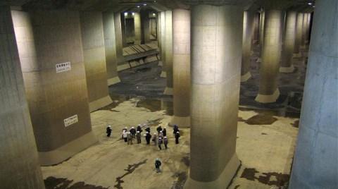 İşte Tokyo'da Selleri Önleyen Yeraltı Sistemi