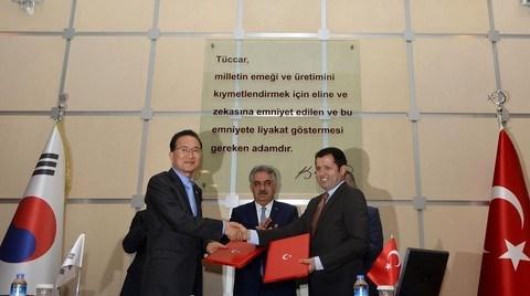 Türkiye ve Güney Kore Arasında Bir İmza Daha