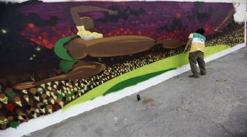 Halk İsyanını Kent Duvarlarına İşte Böyle Çizdi!