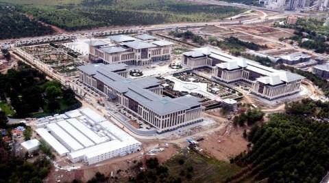 Yeni Başbakanlık Binası Havadan İşte Böyle Görüntülendi!