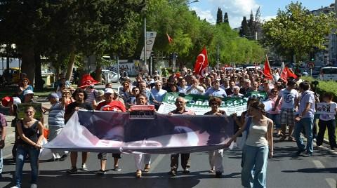 İzmir'in Gezi Parkı'na Durdurma