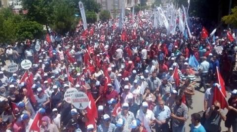 Soma'da İşçi Cinayetlerine 'Dur' Dediler