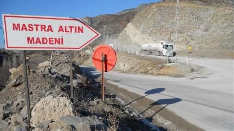 Siyanür Atık Barajına İzin Yok