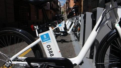Madrid'de Şehir İçi Ulaşımda Elektrikli Bisiklet Dönemi