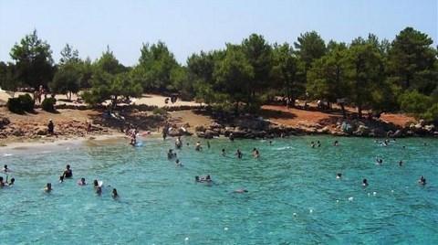 İncekum Plajına 2.5 Milyon Lira