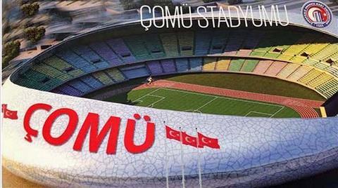 ÇOMÜ'ye 40 Bin Kişilik Stadyum