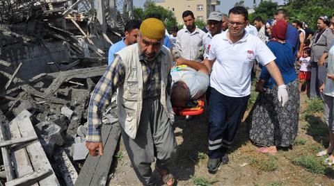 İnşaat Çöktü, İşçiler Şoka Girdi