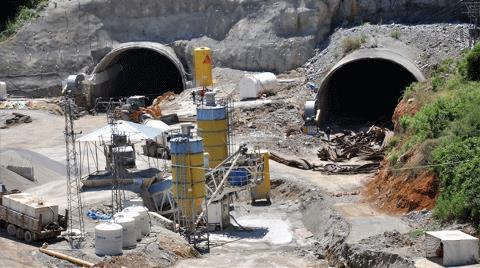 Tünel İnşaatına Kömür Engeli