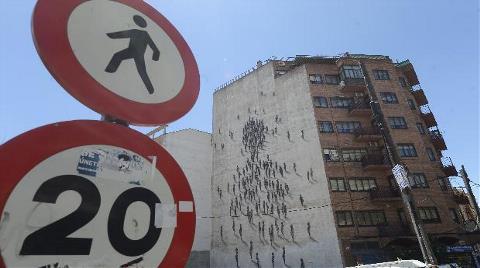 Varoş Mahallelerinde 'Kentsel Sanat' Projesi