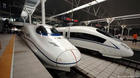 Çin Yüksek Hızlı Trenleriyle Avrupa Şirketlerine Rakip