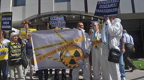 """""""Radyasyon İthalatı İstemiyoruz!"""""""