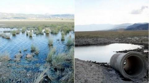 Kanalizasyon Atıkları Burdur Gölü'ne