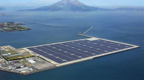 Dünyanın En Büyük Yüzen Güneş Paneli