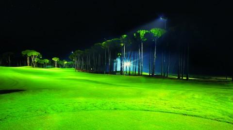 24 Saat Aralıksız Golf Oynamak için LG