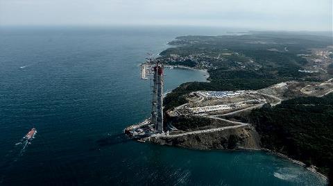 3. Köprü Havadan İşte Böyle Görüntülendi