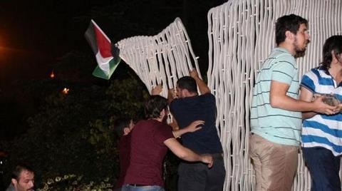 "İsrail'i Protestoda ""Akdeniz""i Kırdılar!"