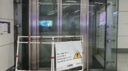 """Engellilere Metroda """"Asansör"""" Engeli!"""