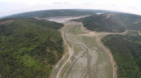 İstanbul Barajları Havadan Kötü Gözüküyor