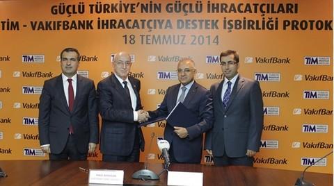 TİM ile VakıfBank'tan 'Dış Ticaret' İş Birliği