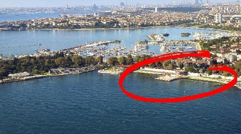 Fenerbahçe-Kalamış Yat Limanı'na Onay