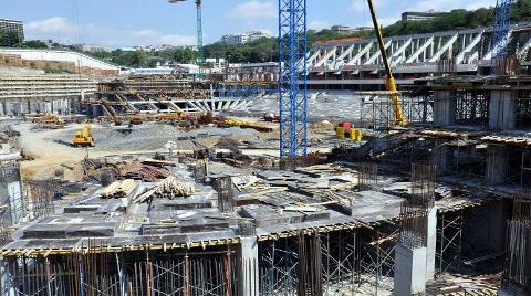 Beşiktaş'ın Yeni Evinin İnşaatı İşte Böyle Görüntülendi!