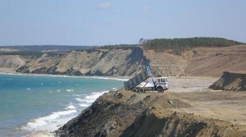 Eyüp Ağaçlı Köyü Sahili Halka Kapatıldı