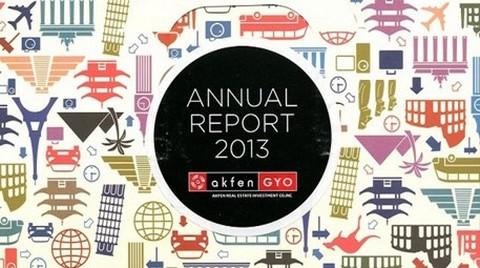 Akfen GYO'nun Faaliyet Raporuna 2013 Vision Awards Ödülü