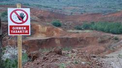 """Çan'da """"Altın Madeni"""" Eylemi!"""