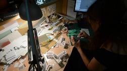 Moskova için 'Dev' Minyatür Maket