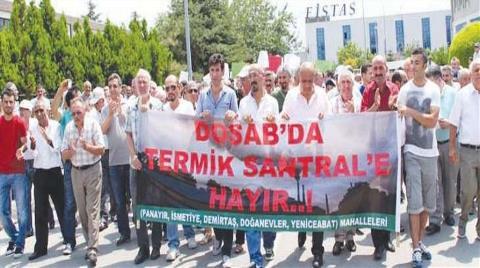 """""""Bursa'da Termik Santral İstemiyoruz"""""""
