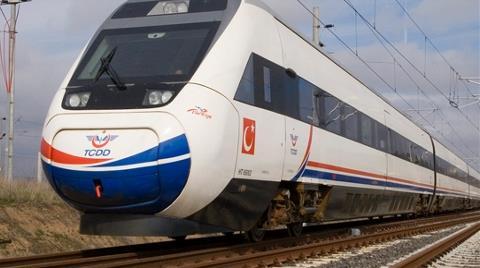 Hızlı Tren Seferleri Durduruldu