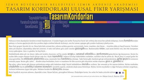İzmir Tasarım Koridorları Ulusal Fikir Yarışması