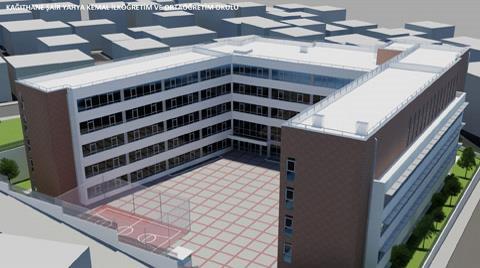 İstanbul'da Okullar Yenileniyor