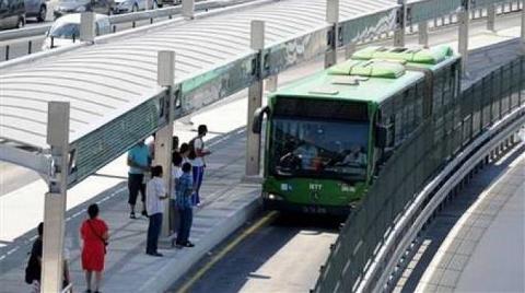 Buraya da Metrobüs Geliyor!