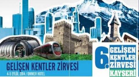 Gelişen Kentler Zirvesi 'Model Şehir' Kayseri'de