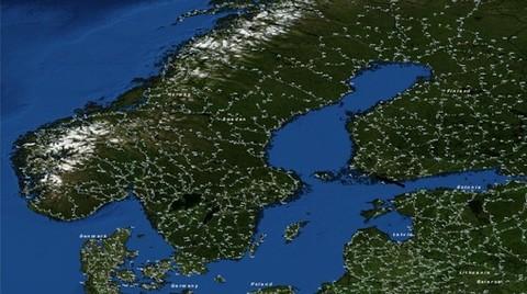 '8 Milyonluk İskandinav Şehri' için Hızlı Tren
