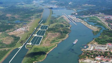 """Panama Kanalı """"Dalya"""" Dedi"""