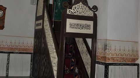 600 Yıllık Camide Hırsızlık
